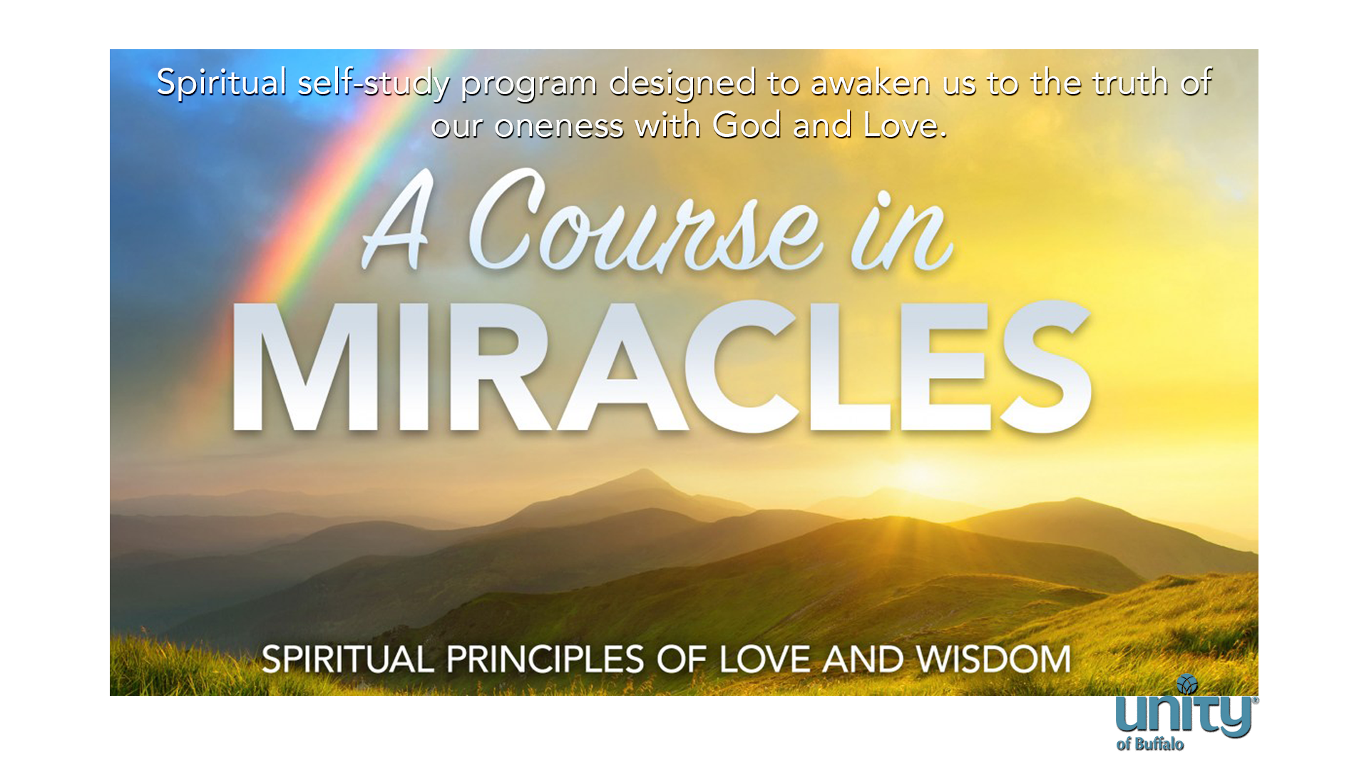A Course in Miracles at Unity of Buffalo