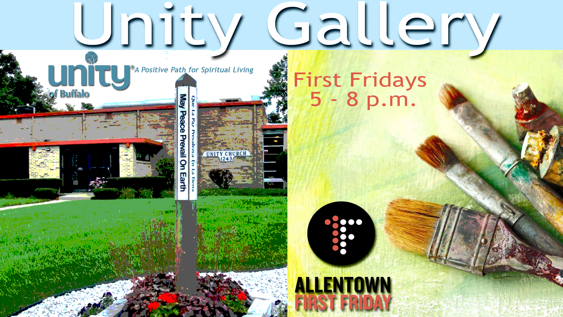 First Fridays at Unity Art Gallery