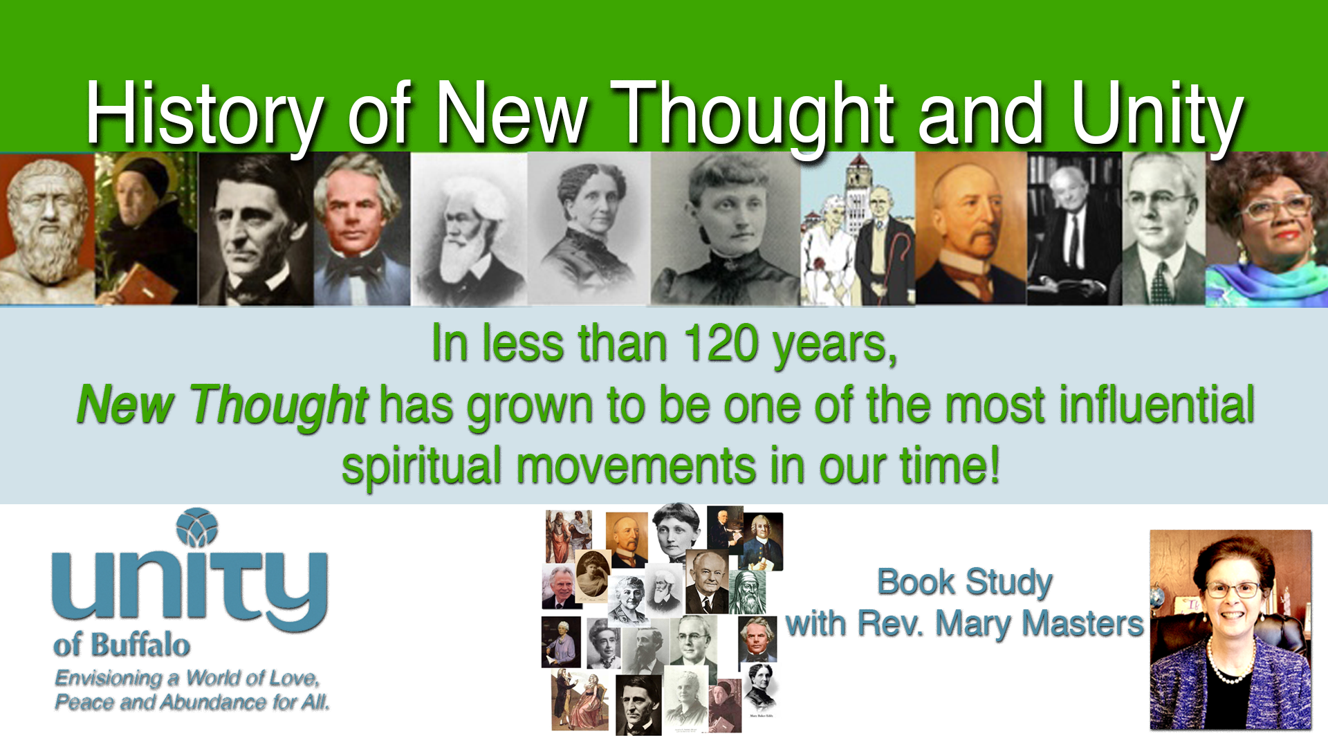 The Unity Movement Book Study at Unity of Buffalo