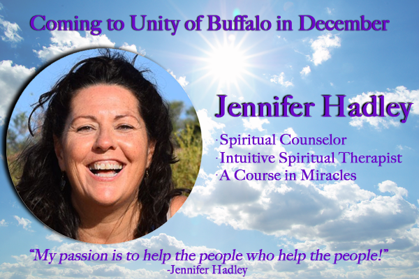 Jennifer Hadley at Unity of Buffalo