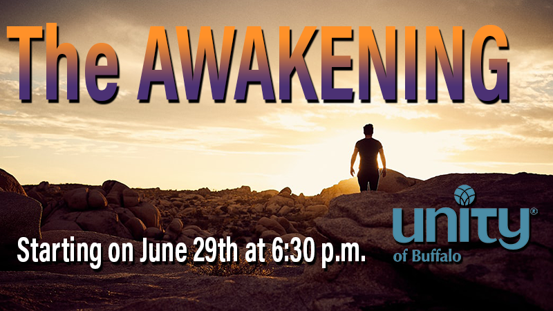 The Awakening Zoom Series at Unity of Buffalo online