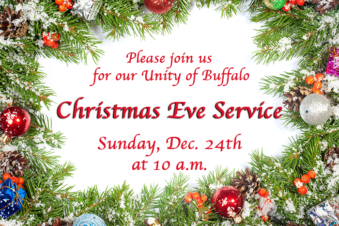 Unity of Buffalo Christmas Service 2017