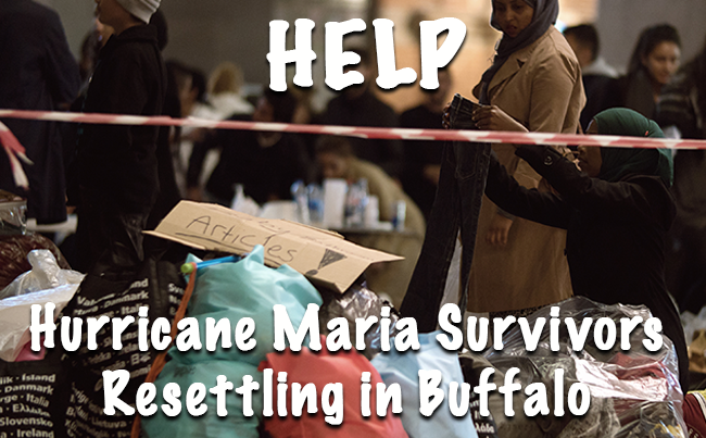 Help for Hurricane Survivors Resettling in Buffalo