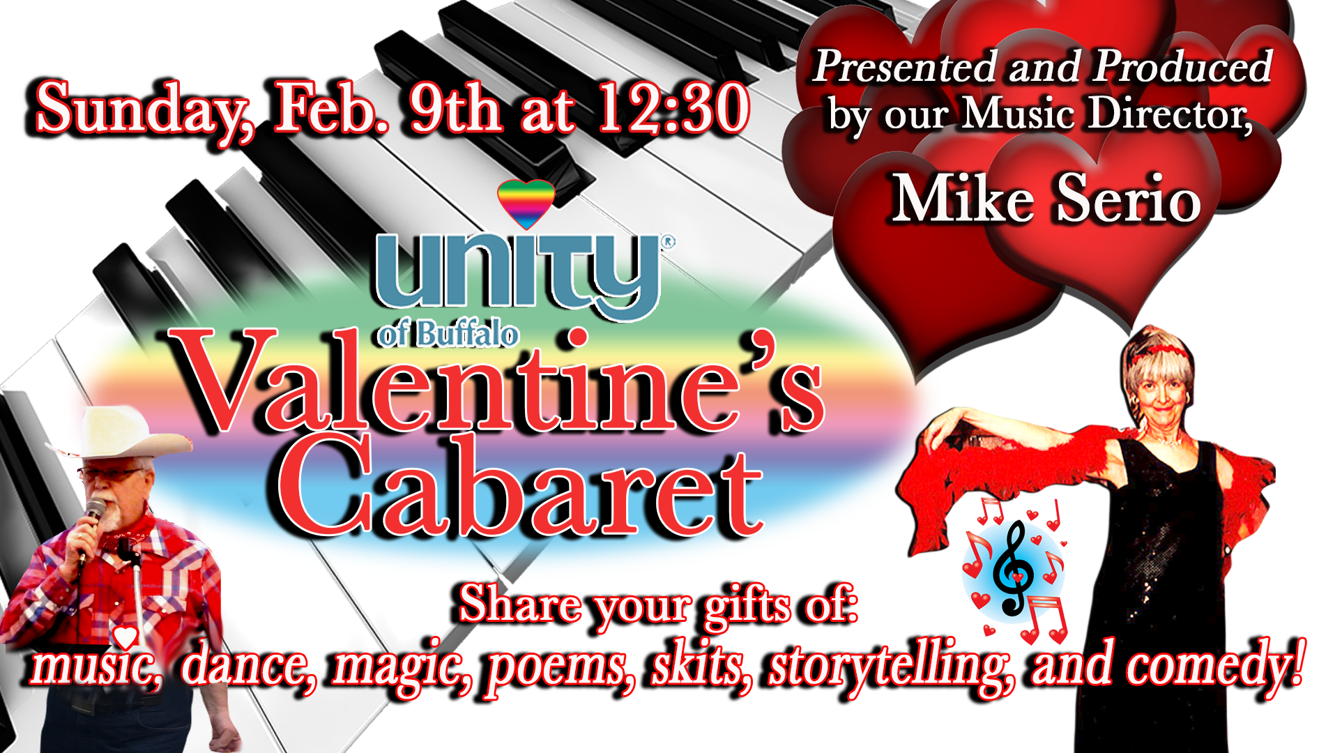 Valentine's Cabaret at Unity of Buffalo