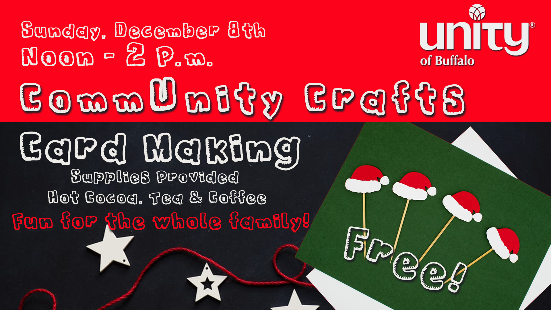 Christmas Card Making at Unity of Buffalo